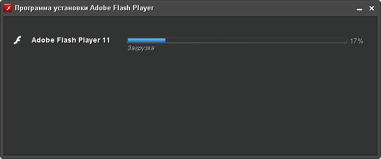 okno zagruzka flash player 2 Flash Player для Windows 7