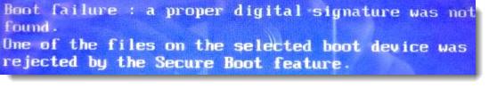 Не запускается установка Windows 7 на новом ноутбуке